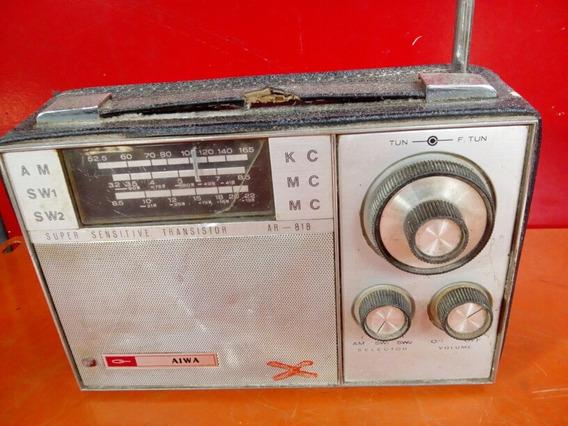 Antigo Rádio Alwa 3 Faixa Não Funciona.