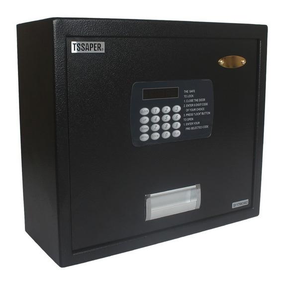 Cofre Digital De Gaveta Display Lcd Chave Senha 20l Ds145cg