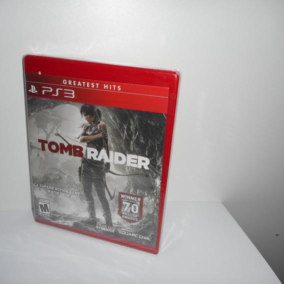 Tomb Raider Ps3 Mídia Física Novo Lacrado