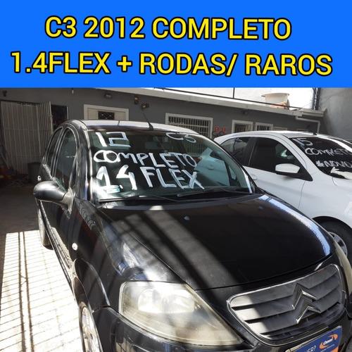 Citroen C3 2012 1.4 Flex Completo Ar Condicionado Economico