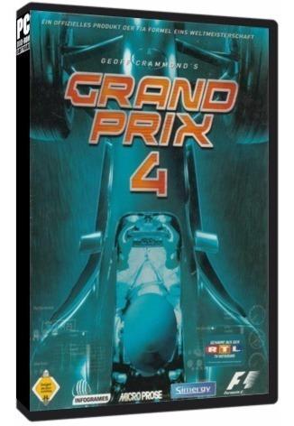 Grand Prix 4 (temporada 2001) - Pc Dvd - Frete 8 Reais