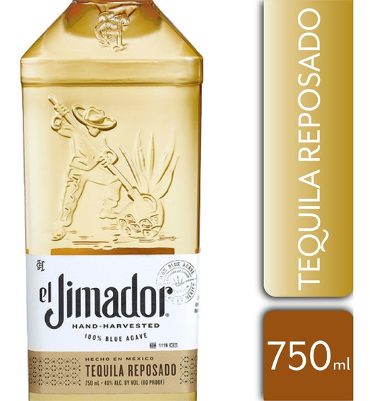 Tequila El Jimador Reposado 40º 750ml
