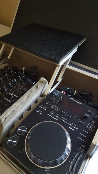 Cdj 350 + Djm 350 Pioneer + Case