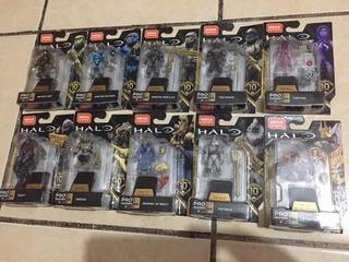 Halo Mega Construx Serie Héroes 10 Completa!!