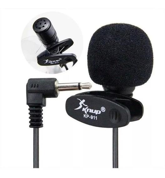 Microfone De Lapela P/ Smartphones Celulares Androids P2