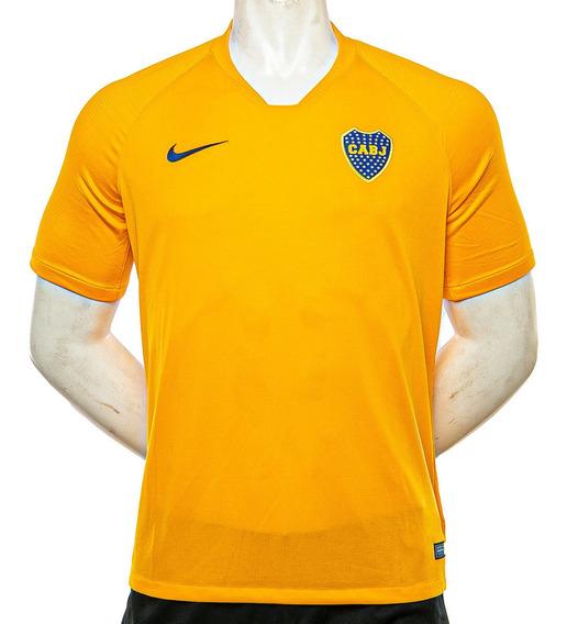 Remera Boca Brt Striker Top Ss Nike Sport 78 Tienda Oficial