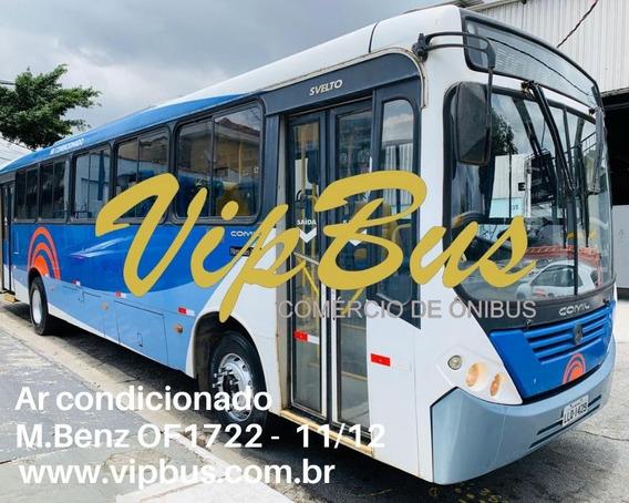 Urbano Ar Condicionado 11/12 M.benz Financia 100% Vipbus