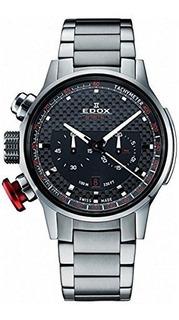 Edox Men 10302 3m Nin2 Chronorally Display Analogico Reloj D