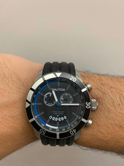 Relógio Nautica N17583g Aço Inoxidável