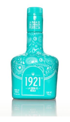 Imagen 1 de 3 de 1921 La Crema De México Edición Irresistible Azul (750ml.)