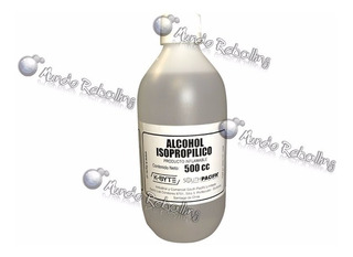 Alcohol Isopropílico / 500 Ml / Alta Pureza 99,9% / Limpieza