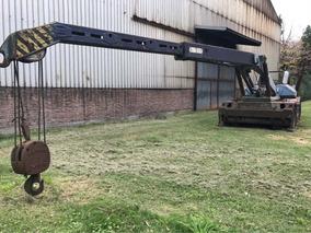 Grua Telescopica Giratoria Demag 9000kg Diesel Vea Video
