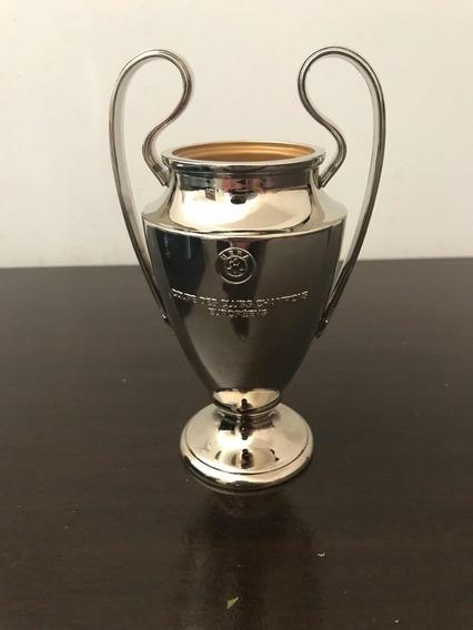 taca uefa champions league miniatura mercado livre brl