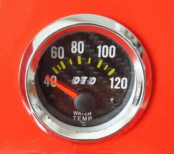 Manômetro 52mm Temperatura Da Água Water Relógio Com Sensor