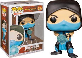 Sub Zero 536 Mortal Kombat Funko Pop
