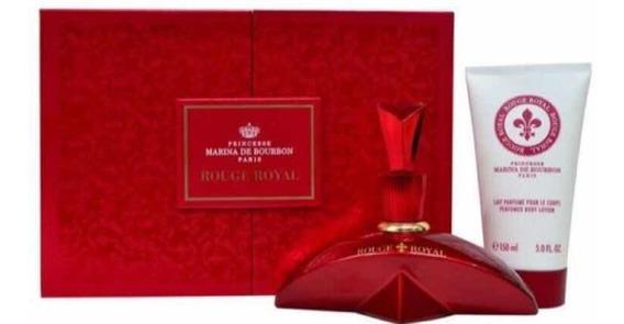 Kit Marina De Bourbon Rouge Royal Edp 100ml - Locão 150ml