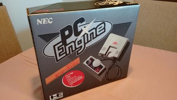 Pc Engine Em Excelente Estado E Batendo Serial!