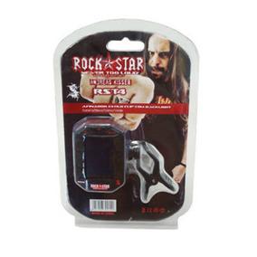 Afinador Digital Para Violão Guitarra Baixo Rock Star Rst4