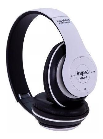 Fone De Ouvido Inova Bluetooth Stereo Sem Fio -2045d