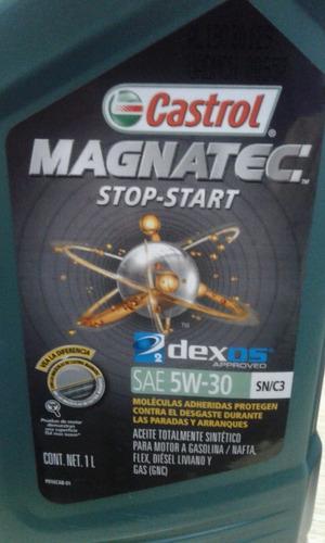Aceite Sintetico Castrol 5w30 Magnatec Stop-start 4 Litros