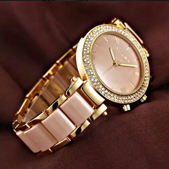 Relógio Feminino Amuda Luxo Lindo,elegante Promoçao