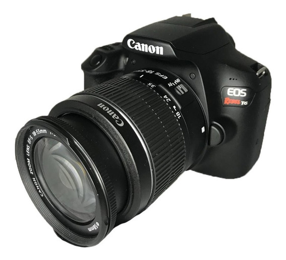 Câmera Canon T6 Semi Nova + Lente 18-55mm Perfeitas