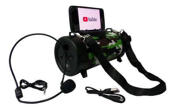 Caixa Caixinha De Som Bluetooth Amplificada Usb Mp3 Radio Fm
