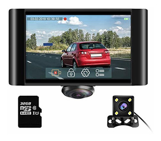 Akaso 360 Degree Dash Camera For Cars - 2k