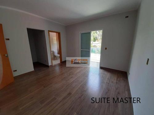 Sobrado Com 3 Suítes, Sala 2 Ambs À Venda, 156 M² - Jardim Do Mar - São Bernardo Do Campo/sp - So2785