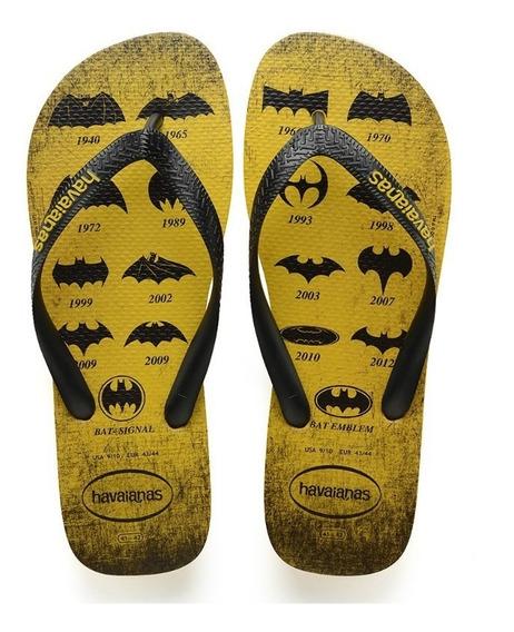 Chinelo Havaianas Batman Amarelo Rcr Games