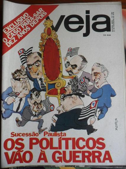 Veja - Os Políticos Vão A Guerra (nº 494) Frete Grátis