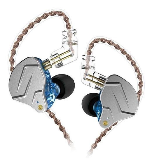 Fone De Ouvido Kz Zsn Pro + Brinde In-ear S/mic