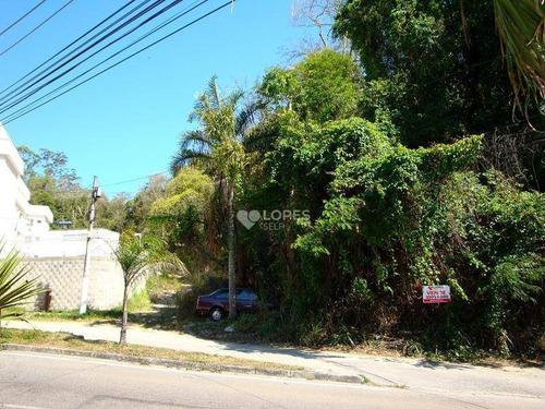 Imagem 1 de 5 de Terreno À Venda, 4573 M² Por R$ 900.000,00 - Maceió - Niterói/rj - Te3762