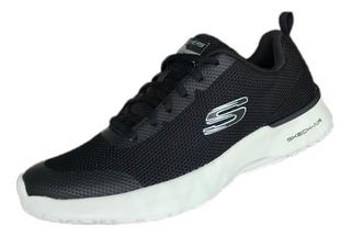 Tenis Skechers 232007/bkw Skechair Dynamight Negro Hombre