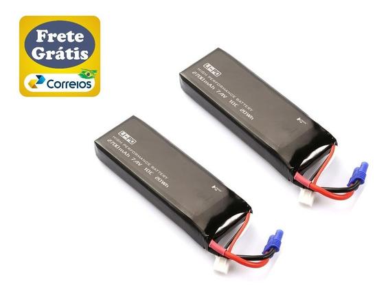 Frete Grátis - 02 Und Bateria Drone Hubsan H501s H501c H501m