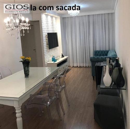 Apartamento Com 3 Dormitórios À Venda, 75 M² Por R$ 465.000,00 - Casa Verde (zona Norte) - São Paulo/sp - Ap0118