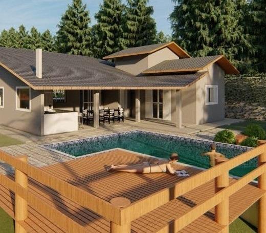 Casa De Campo Em Condomínio. Financia
