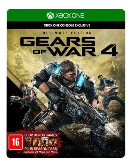 Jogo Gears Of War 4 Ultimate Edition Colecionador Xbox One
