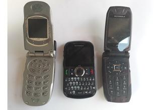 Celulares (3) Nextel - I880 - I475 - I730 Flip