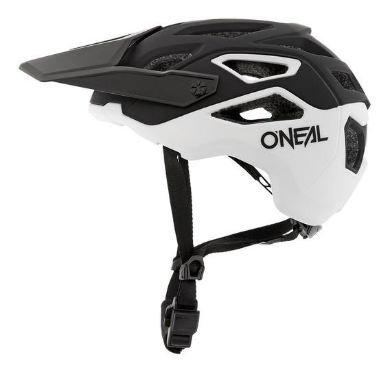 Casco Oneal Pike 2.0 Black/white Bicicleta Mtb Enduro Trail