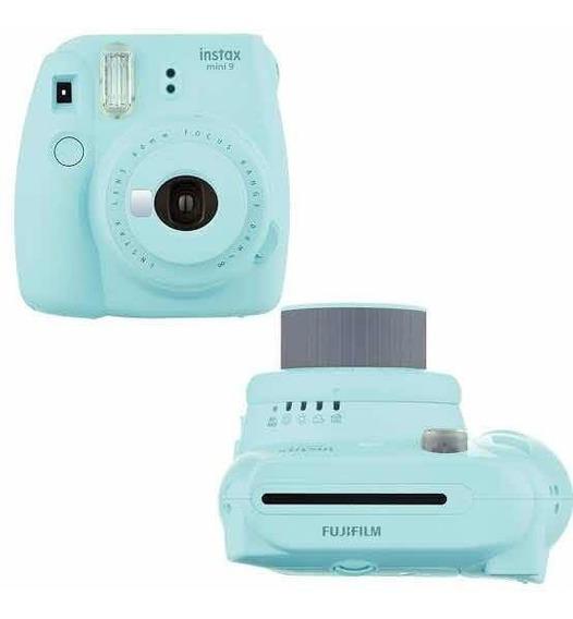 Fujifilm Instax Mini 9 Azul - Câmera Instantânea