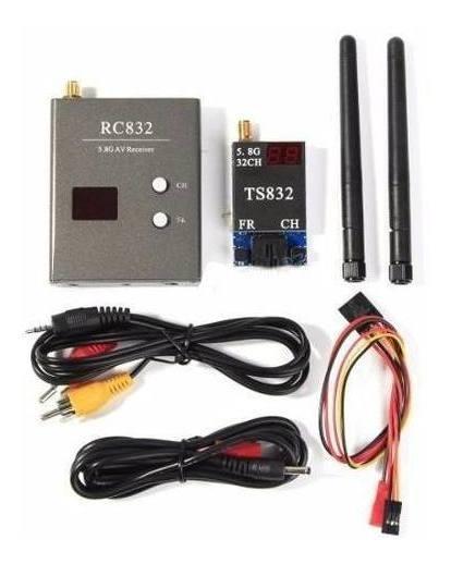Boscam Fpv 5.8g 600mw Transmissor Receptor Vídeo Rc832 32ch