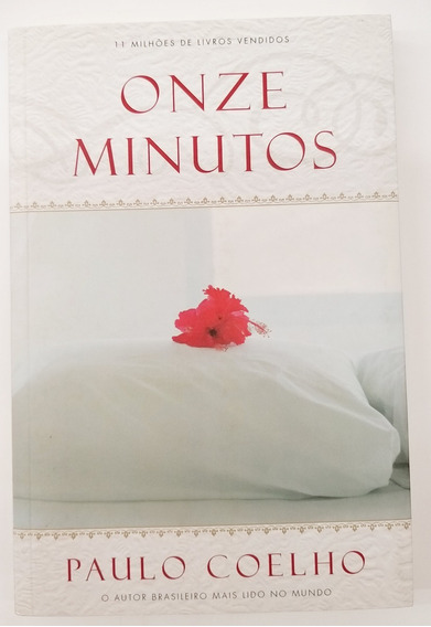 Livro Onze Minutos - Paulo Coelho - Usado Bom Estado