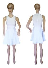 8186e9abd Vestido Pin Up - Vestidos de Mujer Blanco en Mercado Libre Argentina
