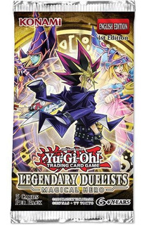Yu Gi Oh Legendary Duelist Magical Hero Booster Pack