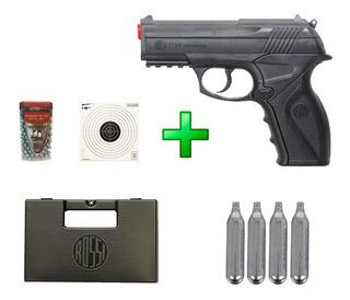 Pistola De Pressão Co² Wingun C11 - Rossi - 4.5mm + Kit Lc