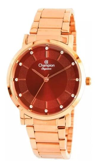 Relógio Feminino Champion Analógico Cn25627i - Rosê
