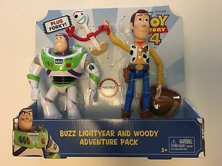 Toy Story 4 Adventure Pack Buzz Lightyear/woody And Forky