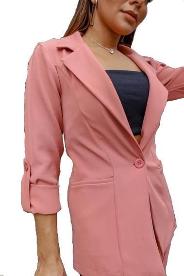 Conjunto Social Feminino Blazer E Calça Luxo Premium