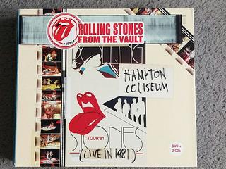Cd Duplo + Dvd Rolling Stones Hampton Coliseum Live 1981